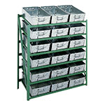 Picture of Tote Pan Storage Racks