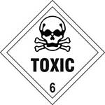 Toxic 6 Diamond Labels
