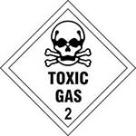 Picture of Toxic Gas 2 Diamond Label