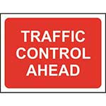 Picture of Traffic Control Ahead Road Sign