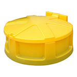 Polyethylene universal drum funnel & cover