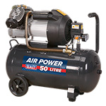 Picture of V-Twin Direct Drive 50L Compressor 3hp