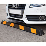 Picture of Vehicle Striped Parking Stop 1650mm Long
