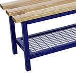Picture of Evolve Accessories - Mesh Shoe Racks for Mezzo & Mono Benches