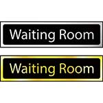 Waiting Room Mini Sign