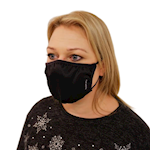 Picture of Washable Black Fabric Face Mask