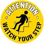 Picture of Watch Your Step Graphic Floor Marker