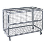 Wire Mesh Security Trolley 150kg Capacity