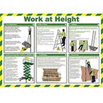 Work At Height Safety Poster