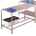 Picture of Stainless Steel Workbenches