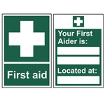 Picture of First Aid Signs