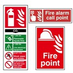 Picture of Fire Extinguisher Signs