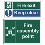 Picture of Fire Exit Signs