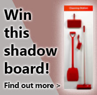 Win this Shadow Board when you spend £150+VAT. Offer code SHADOW