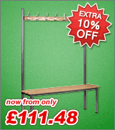 Extra 10% off club range benches