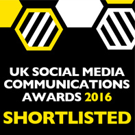 UK Social Media Communications Awards 2016 Shortlisted