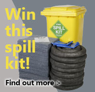Win this spill kit when you spend £150+VAT. Offer code SPILL