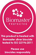 Biomaster anti-bacterial paint finish