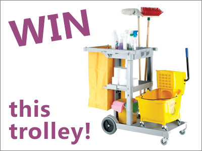 Win a Janitor Trolley when you spend £150 at ESE Direct with code JTROLLEY