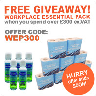 FREE Workplace Essential Pack on orders over £300