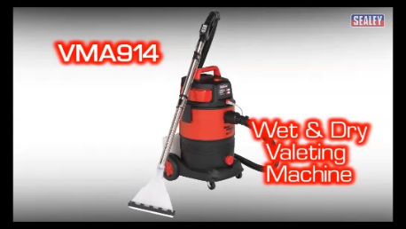 View the Sealey Wet & Dry Valet Machine 30ltr video