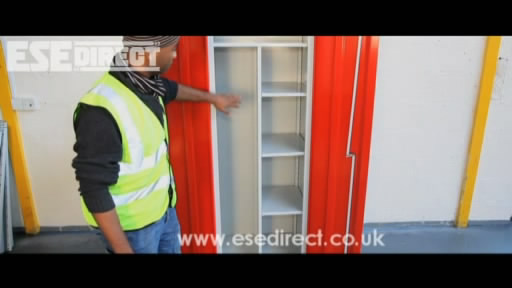 View the 615mm wide Slimline Cupboards video