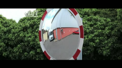 View the Convex Polycarbonate Traffic Mirrors with reflective edging video