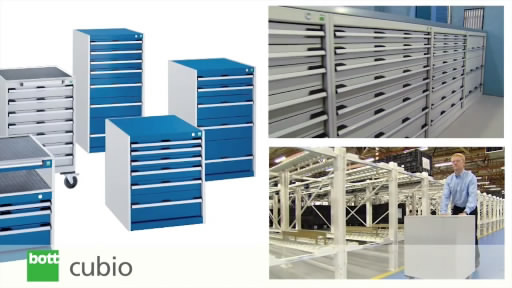 View the Bott Cubio Lockable Freestanding Drawer Cabinets video