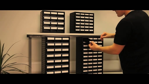 View the ESD Small Parts Storage - Small Cabinet with Polypropylene Housing video