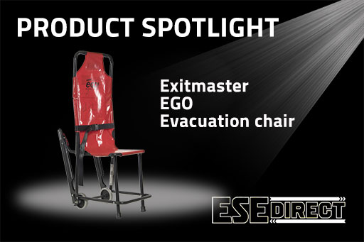 View the Exitmaster EGO Evacuation Chair video