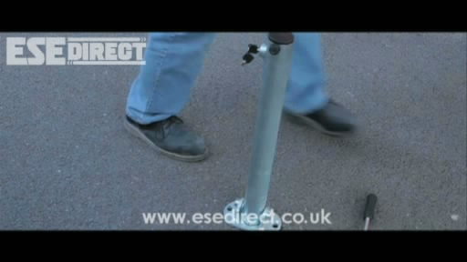 View the Key Lock Folding Parking Post video
