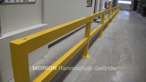 View the Heavy Duty Impact Protection Railing video