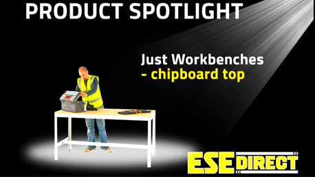 View the Just Workbenches with Chipboard Top video