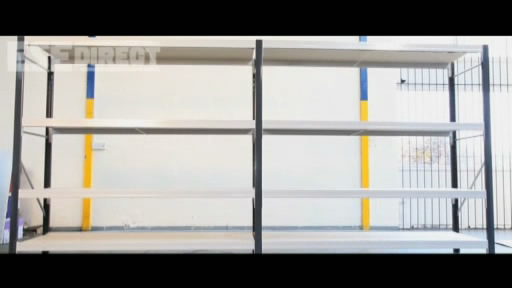 View the Longspan Shelving Bays 3 Galvanised Steel Decks/Shelves video