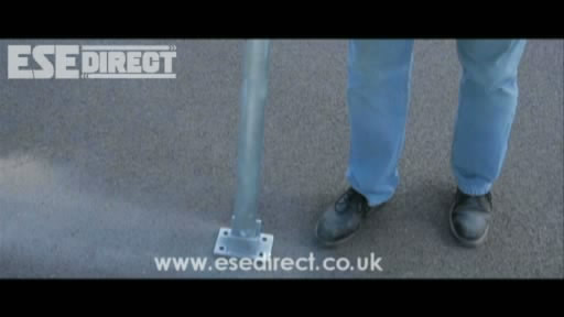 View the Padlock Folding Parking Posts video
