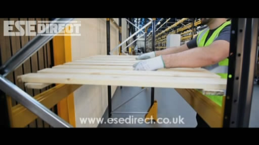 View the Upright Protectors for Pallet Racking video