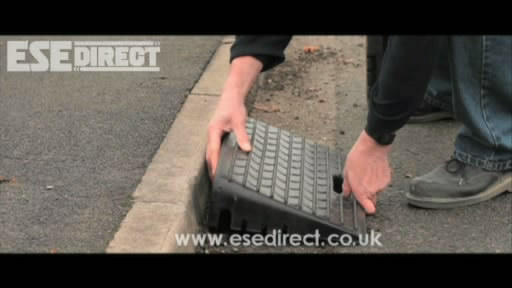 Rubber Kerb Ramps 100mm High Kr100c Ese Direct