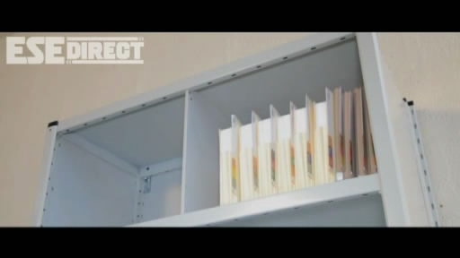 View the Pull-out Reference Shelf for Stormor Shelving video
