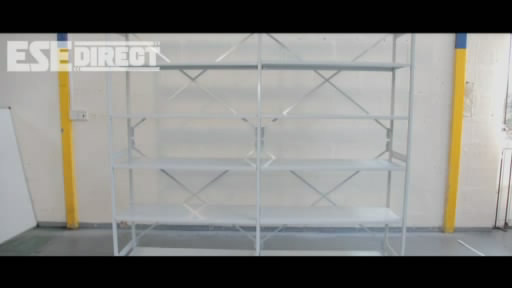 View the Mono Shelving Extension Bay with 6 or 7 Shelves video