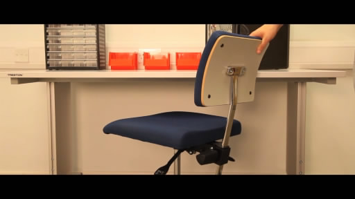 View the WB Height Adjustable Cantilever Bench with Retractable Handle  video