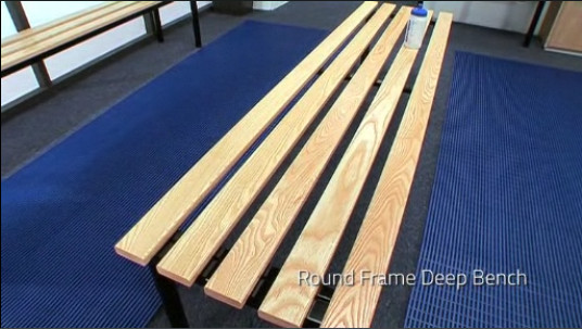 View the Club Changing Room Benches video