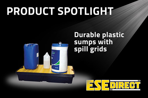 View the Durable Plastic Sumps with Spill Grids video