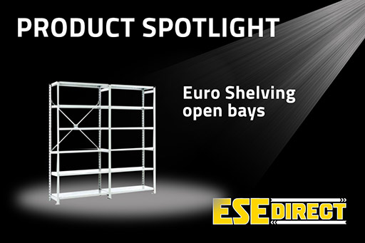 View the Euro Shelving Open Bays with 6 shelves video