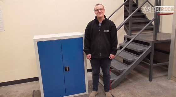 View the General Storage Double Door Cupboards video