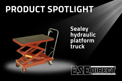 View the Sealey Hydraulic Platform Trucks video