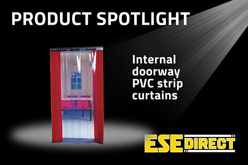 View the Internal Doorway PVC strip Curtains inc Rail video