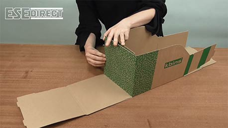 View the K-Bins - B Range Fibreboard Jumbo Shelf Bins video