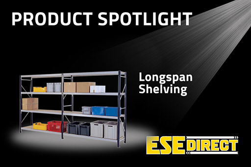 View the Longspan Shelving Bays 3 Chipboard Decks/Shelves video