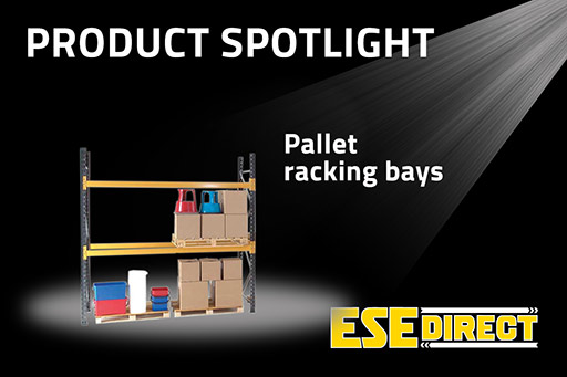 View the 2250mm wide Pallet Racking Bays video
