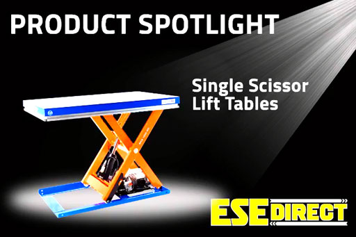 View the Single Scissor Lift Tables 1,000kg to 10,000kg capacity video